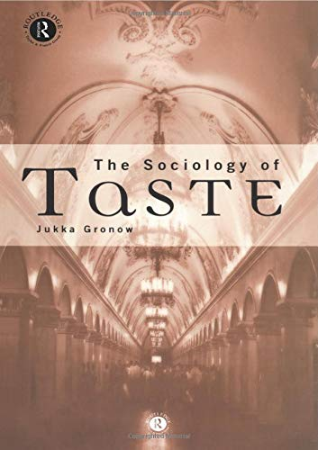 9780415132954: The Sociology Of Taste