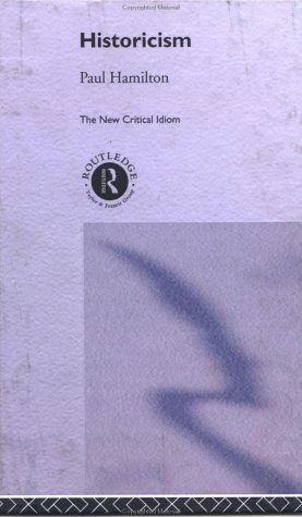 9780415133111: Historicism (The New Critical Idiom)