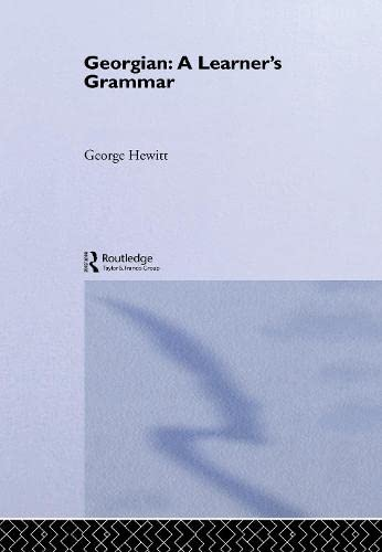 9780415133241: Georgian: A Learner's Grammar (Routledge Essential Grammars)