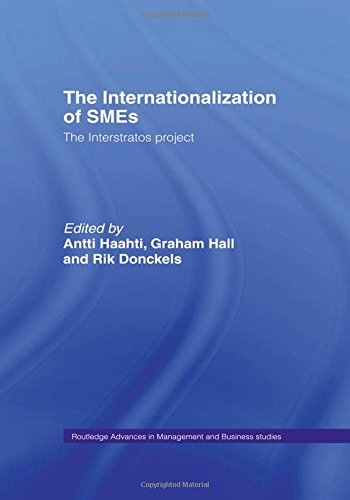 9780415133333: The Internationalization of Small to Medium Enterprises: The Interstratos Project (Routledge Advances in Management and Business Studies)