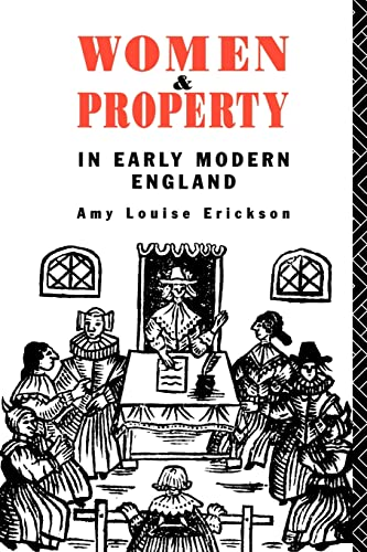 9780415133401: Women and Property: In Early Modern England