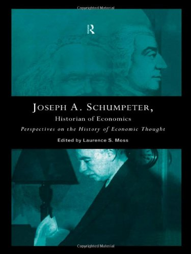 9780415133531: Joseph A. Schumpeter: Historian of Economics: Perspectives on the History of Economic Thought