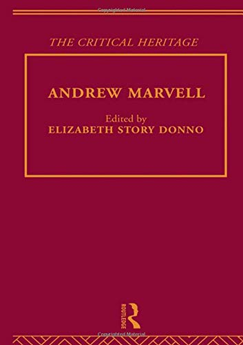 9780415134149: Andrew Marvell: The Critical Heritage (Volume 4)