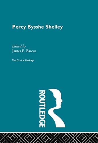 9780415134460: Percy Bysshe Shelley: The Critical Heritage (The Collected Critical Heritage : The Romantics) (Volume 43)