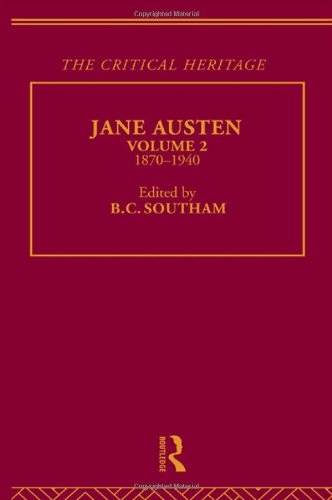 9780415134576: The Collected Critical Heritage I: Jane Austen: The Critical Heritage Volume 2 1870-1940: 1870-1940 Vol 2