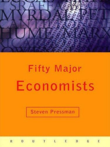 9780415134811: Fifty Major Economists (Routledge Key Guides)