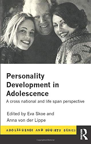 9780415135061: Personality Development In Adolescence: A Cross National and Lifespan Perspective (Adolescence and Society)