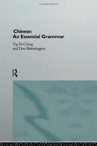 9780415135344: Chinese: An Essential Grammar