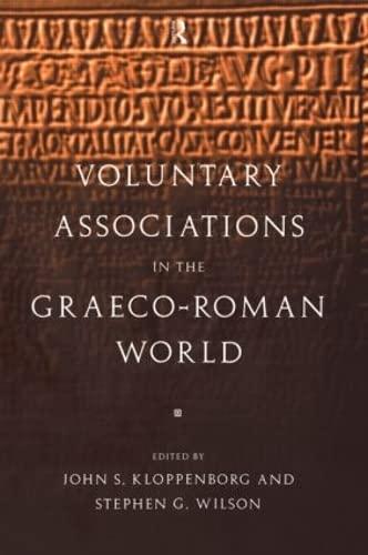 9780415135931: Voluntary Associations in the Graeco-Roman World
