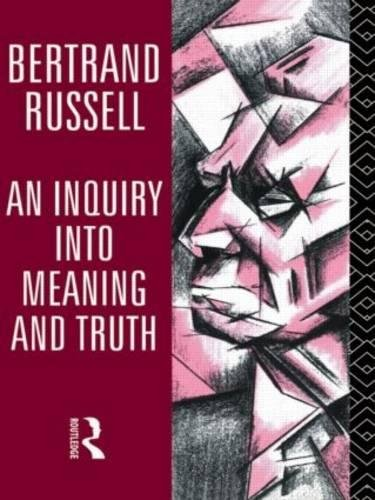 9780415136006: An Inquiry into Meaning and Truth