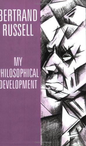 9780415136013: My Philosophical Development