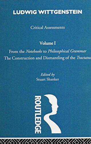 Ludwig Wittgenstein: Critical Assessments (Critical Assessments of Leading Philosophers) - Stuart Shanker