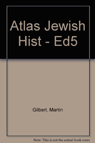 9780415136525: Atlas Jewish Hist: From 2000 BC to the Present Day
