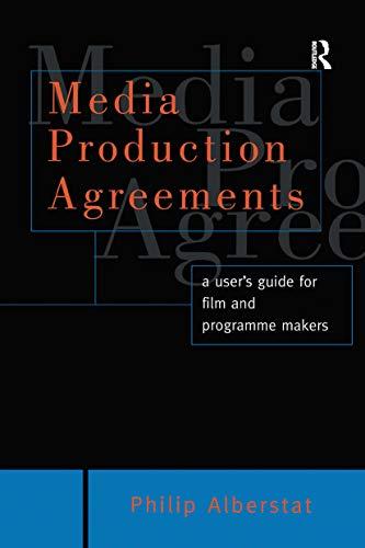 9780415136686: Media Production Agreements (Blueprint Series)