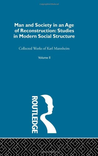 9780415136747: Man & Soc Age Reconstructn V 2 (Routledge Classics in Sociology) (Volume 8)