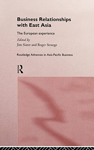 Business Relationships with East Asia: The European: Jim Slater
