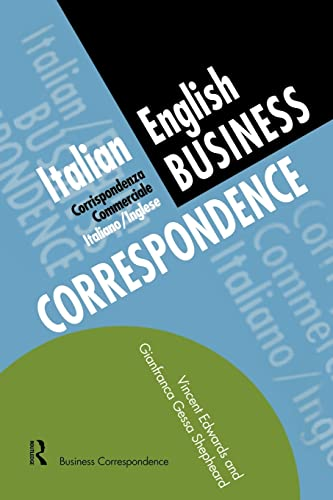 9780415137119: Italian/English Business Correspondence (Languages for Business)
