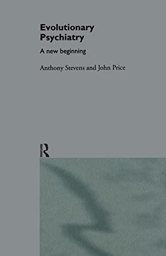 9780415138390: Evolutionary Psychiatry: A New Beginning