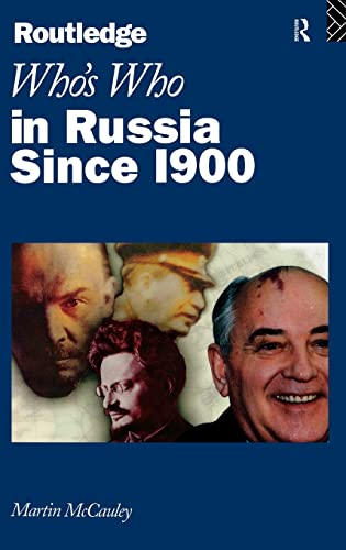9780415138970: Who's Who in Russia since 1900