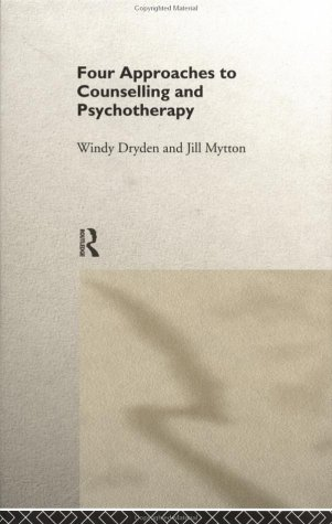 9780415139922: Four Approaches to Counselling and Psychotherapy