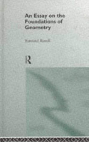 9780415141451: Foundations of Geometry