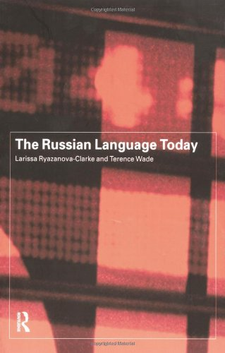 9780415142564: The Russian Language Today