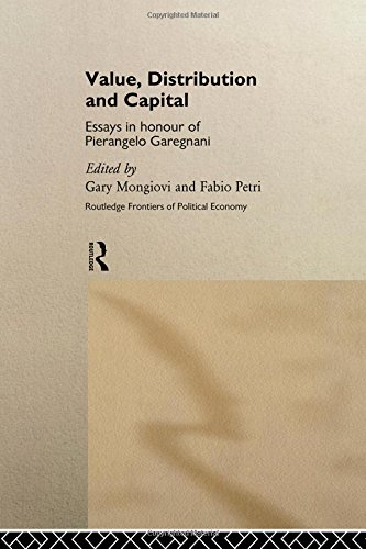 9780415142779: Value, Distribution and Capital