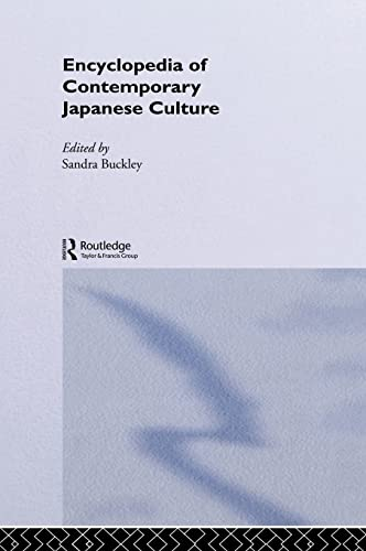 9780415143448: Encyclopedia of Contemporary Japanese Culture (Encyclopedias of Contemporaryculture)