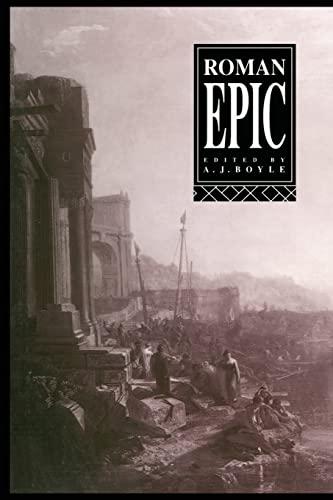 Roman Epic: Boyle, A. J. (ed)