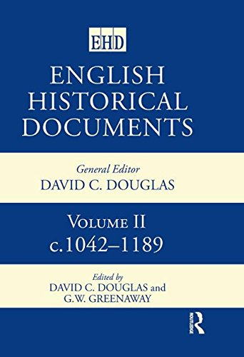 9780415143677: English Historical Documents: 1042-1189