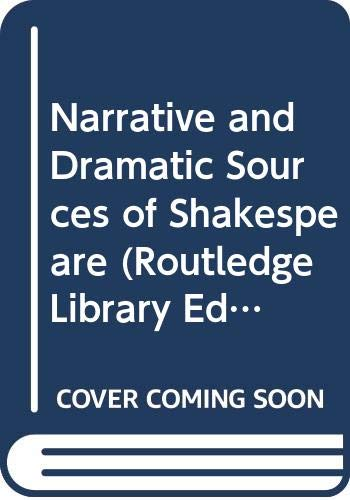 9780415143783: Narrative and Dramatic Sources of Shakespeare