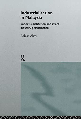 9780415144766: Industrialization in Malaysia: Import Substitution and Infant Industry Performance (Routledge Studies in the Growth Economies of Asia)