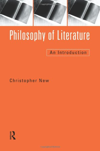 9780415144865: Philosophy of Literature: An Introduction