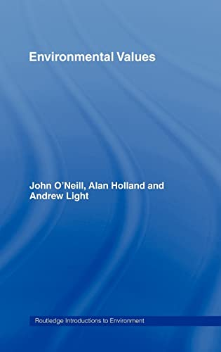 9780415145084: Environmental Values (Routledge Introductions to Environment: Environment and Society Texts)