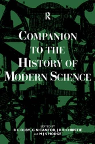 9780415145787: Companion to the History of Modern Science (Routledge Companion Encyclopedias)