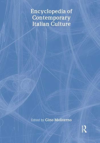 9780415145848: Encyclopedia of Contemporary Italian Culture (Encyclopedias of Contemporary Culture)