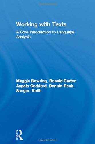 9780415145961: Working with Texts: A Core Introduction to Language Analysis