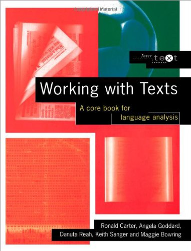 9780415145978: Working with Texts: A Core Introduction to Language Analysis