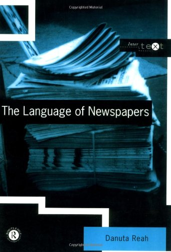 9780415146005: The Language of Newspapers (Intertext)