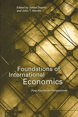 9780415146517: Foundations of International Economics: Post-Keynesian Perspectives