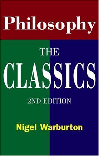 9780415146920: Philosophy: The Classics