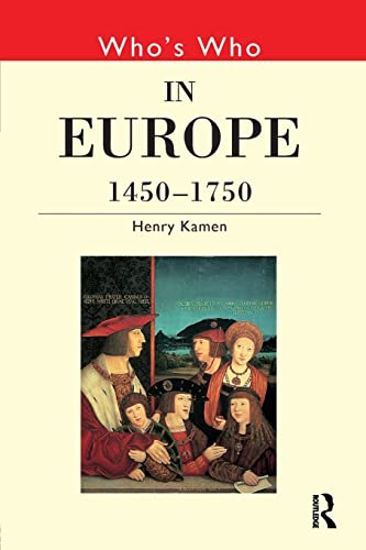 9780415147286: Who's Who in Europe 1450-1750