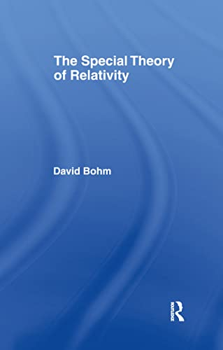 9780415148085: The Special Theory of Relativity