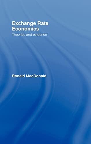 9780415148788: Exchange Rate Economics: Theories and Evidence