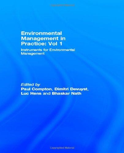 9780415149068: Environmental Management in Practice: Vol 1: Instruments for Environmental Management (Environmental Management Series) (Volume 1)