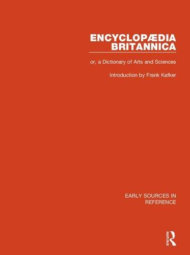 9780415149563: Encyclopaedia Britannica, or a Dictionary of Arts and Sciences