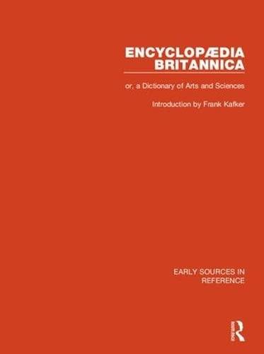 Encyclopaedia Britannica, or a Dictionary of Arts
