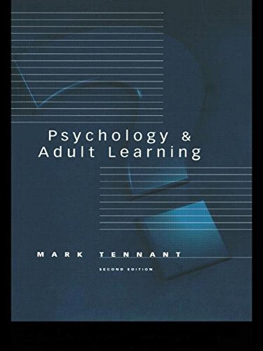 9780415149914: Psychology and Adult Learning (Adult Education/Psychology Series)