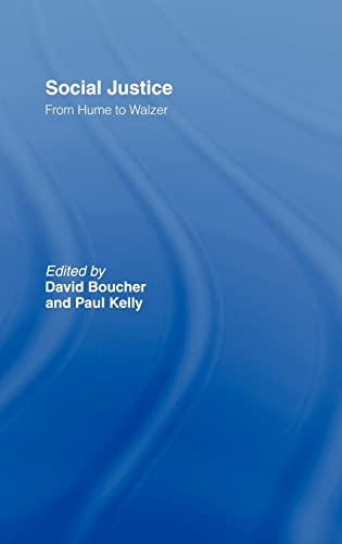 9780415149976: Perspectives on Social Justice: From Hume to Walzer