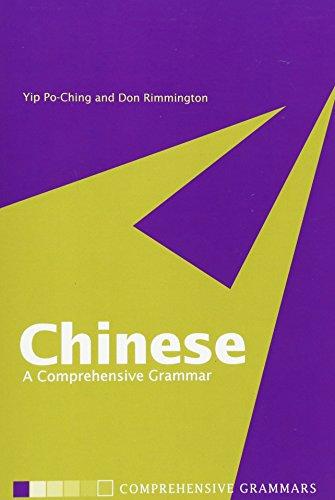 9780415150323: Chinese: A Comprehensive Grammar